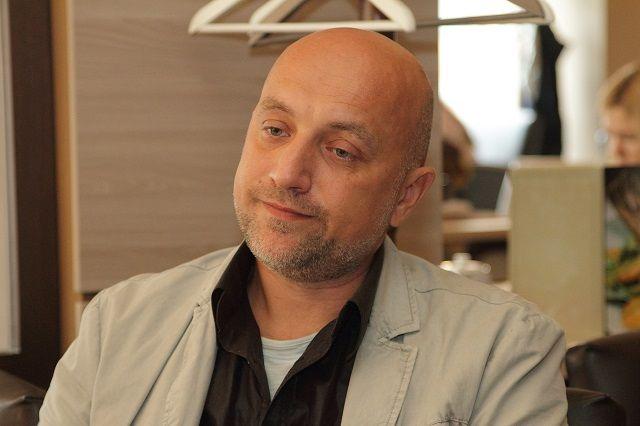 Захар Прилепин посетил Волгоград по приглашению своего товарища -  рок-барда Бранимира.
