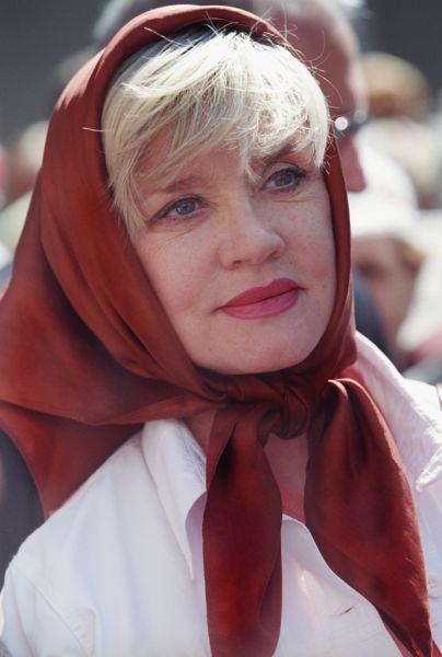 Вера Алентова, 2002 год.