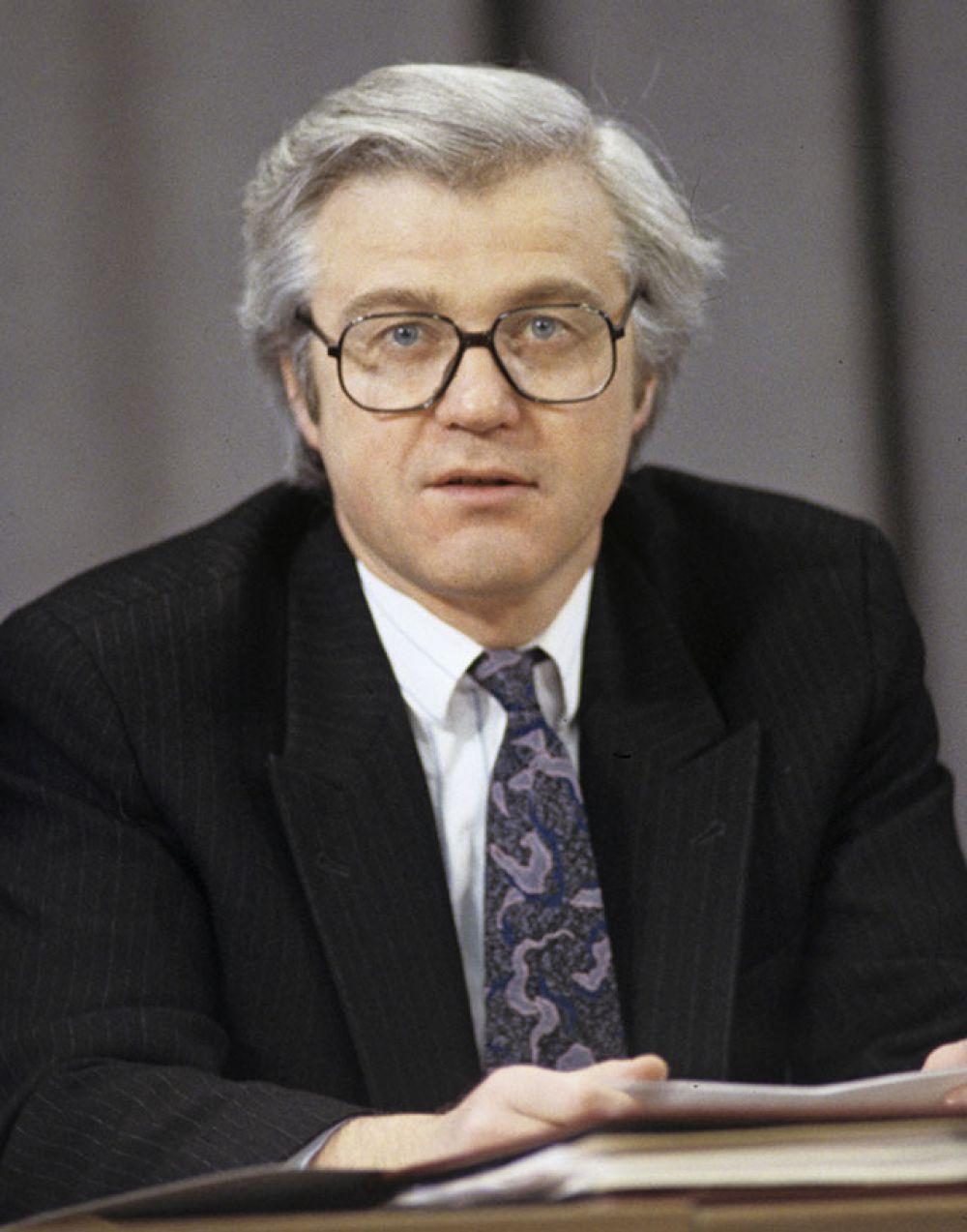 Виталий Иванович Чуркин, заместитель министра иностранных дел Российской Федерации. 1994 год.