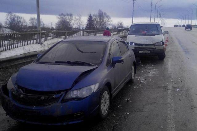 Нетрезвый шофёр без прав разбил три автомобиля вСоколе