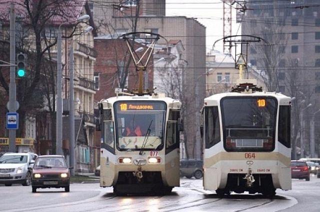 Ростовская транспортная компания задолжала 10,5 млн. — Арестованы трамваи