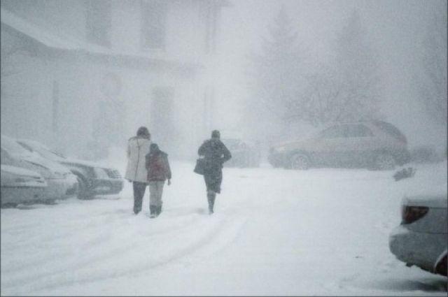 В Кемерове ожидаются сильные снегопады.
