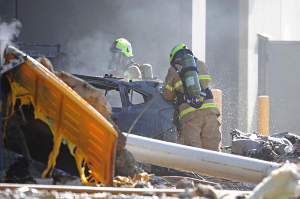 Сообщается, что на борту воздушного судна находились пять человек.