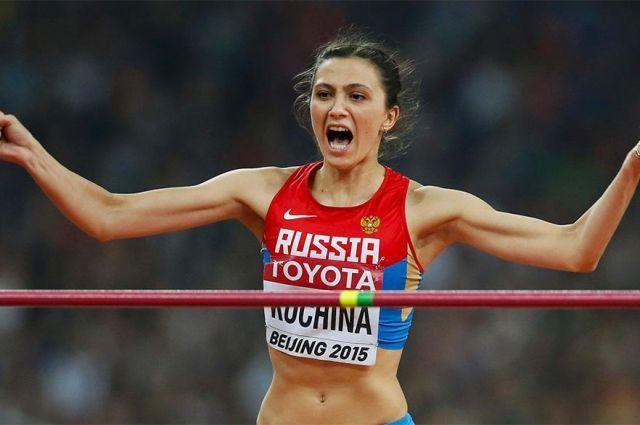 Мария Кучина превысила лучший результат сезона вмире впрыжках ввысоту