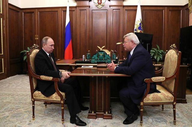 Путин назначит Жвачкина врио томского губернатора довыборов 2017г