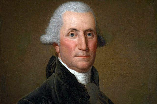 Джордж Вашингтон, портрет.