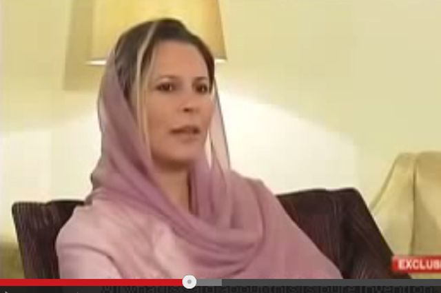 Айша Каддафи, дочь бывшего ливийского лидера Муммара Каддафи. Досье
