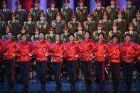 Выступление нового состава ансамбля песни и пляски Российской армии имени А. В. Александрова в Центральном академическом театре Российской армии в Москве. 16 февраля 2017 года.
