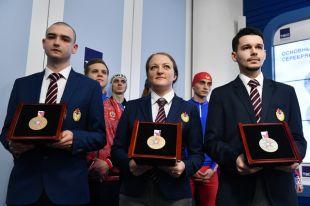 Медали III зимних Всемирных военных игр в Сочи.