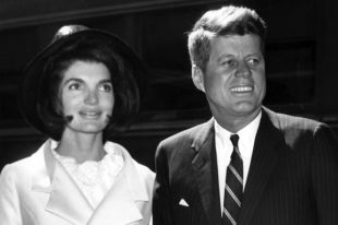 Жаклин и Джон Кеннеди.