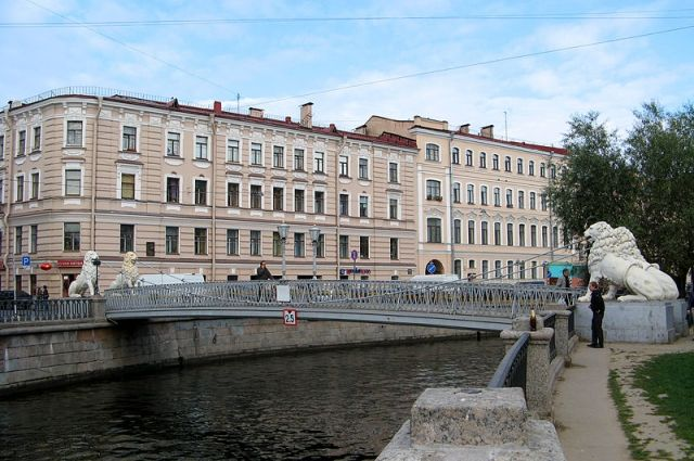 ВПетербурге правый берег канала Грибоедова начнут реставрировать
