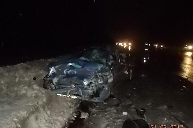ВДТП сучастием полицейской машины под Тулой пострадали 5 человек