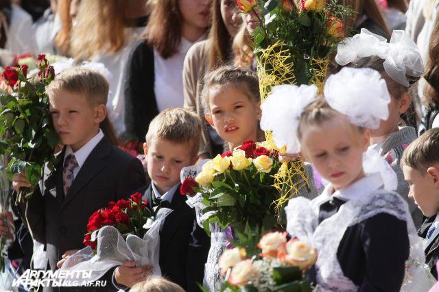 В четырех школах Калининграда завершен прием в первые классы.