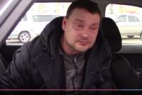 Нетрезвый водитель разрыдался в машине ДПС.