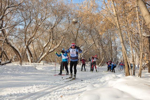 Лыжные гонки - обязательная часть программы.