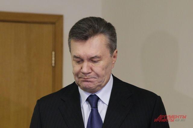 Янукович просит Трампа дать оценку действиям чиновников США впроцессе украинского кризиса