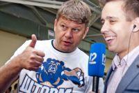 Губерниев прилетел в Омск сегодня.