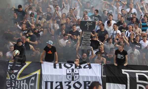 «Гробари», болельщики ФК «Партизан», Сербия.