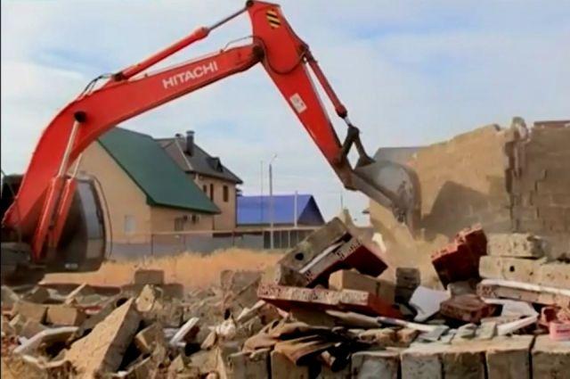 ВБрянской области снесли дом, непредупредив жильцов