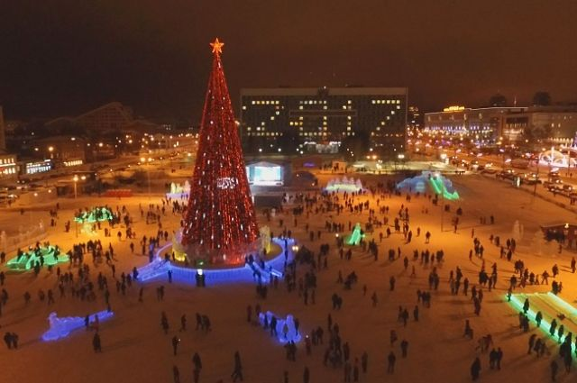 Ледовый городок напермской эспланаде закрыли нареставрацию
