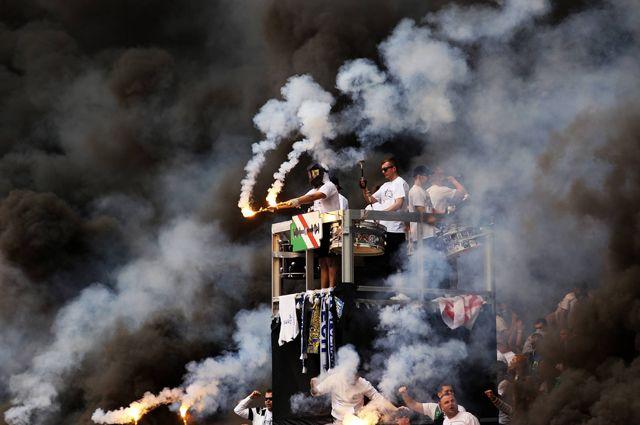 Самые опасные футбольные фанаты Европы