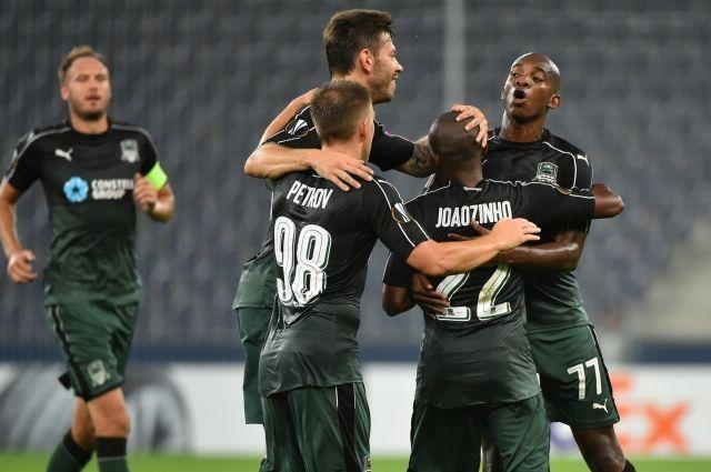«Краснодар» сыграл вничью с«Фенербахче» ивышел в1/8 финала Лиги Европы
