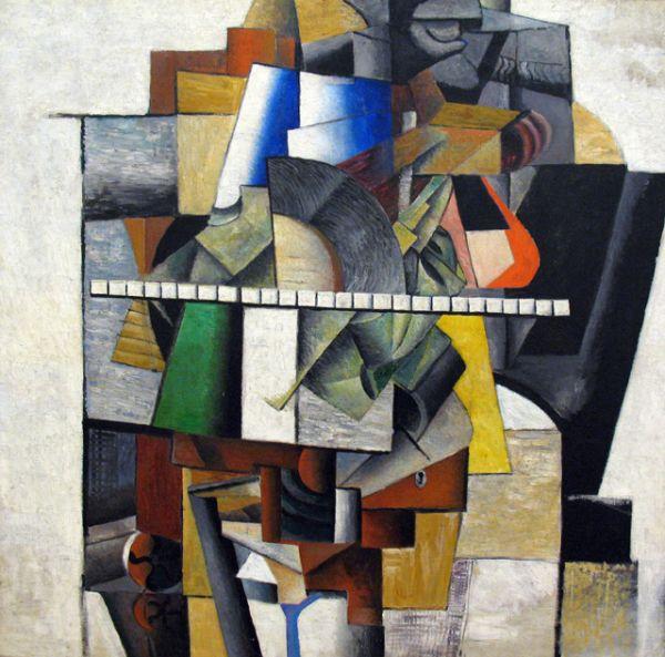 «Портрет художника Матюшина», 1913 год