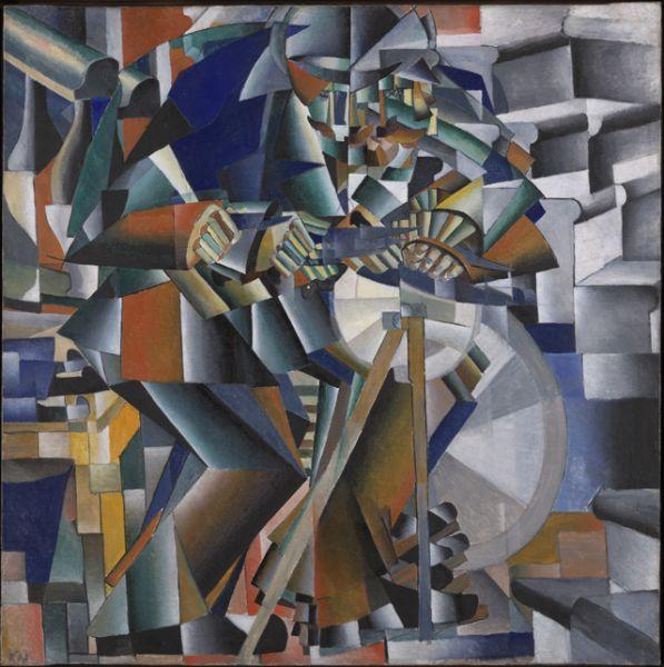 «Точильщик (Принцип мелькания)», 1912 год
