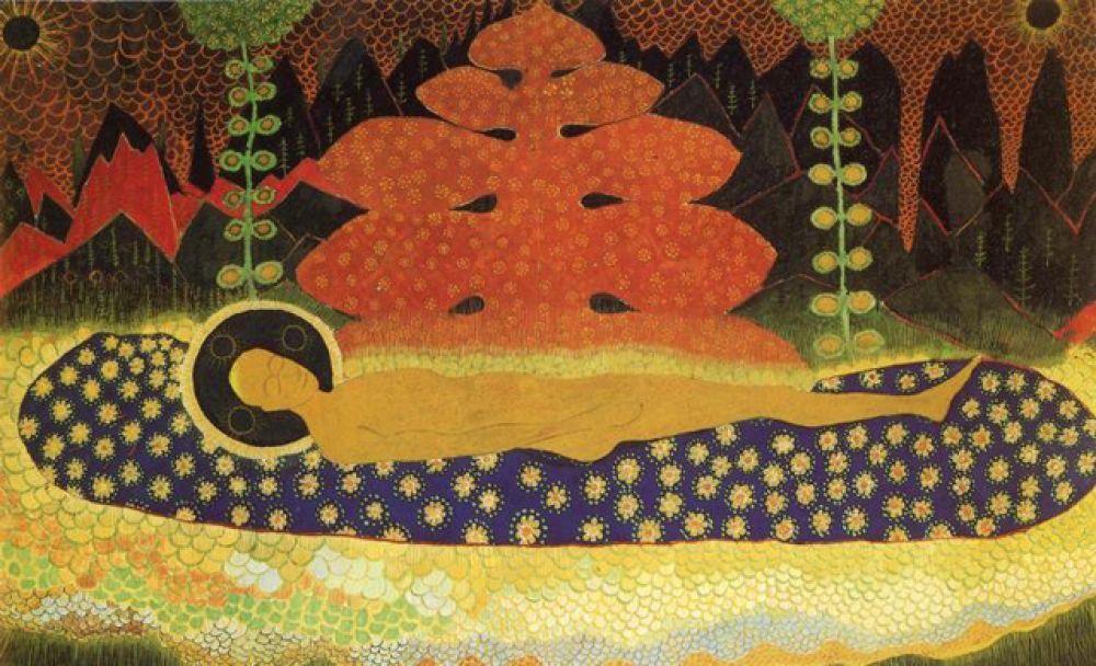 «Плащаница», 1908 год