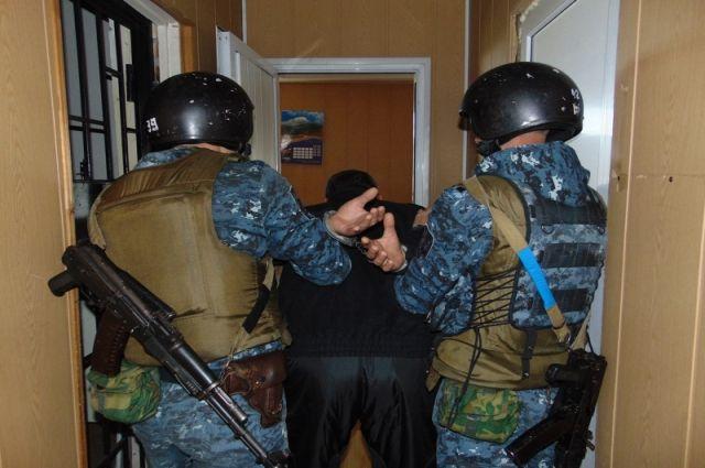 Работники УФСБ задержали 5 человек, укоторых изъяли пистолеты, патроны игранаты