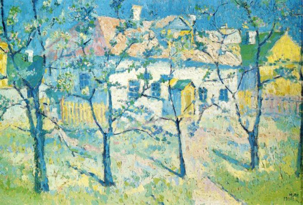«Весна. Цветущий сад», 1904 год