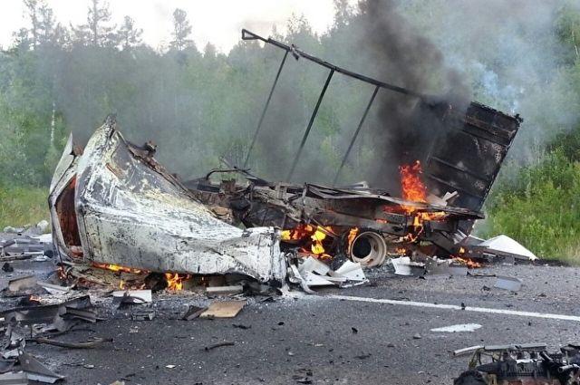 Шофёр бензовоза наобъездной сгорел живьем