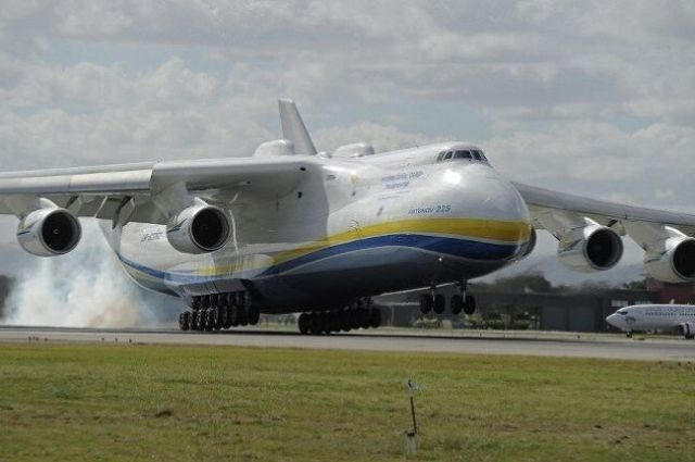 Самый большой в мире самолет Ан225 Мрия