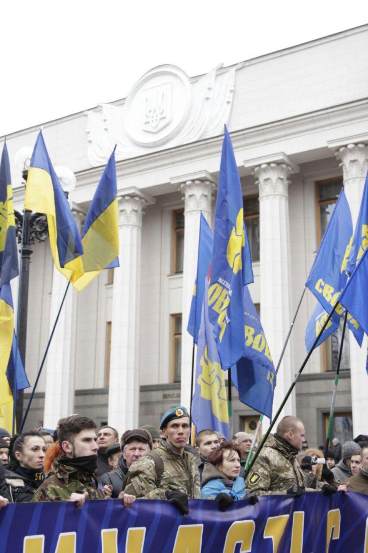 Официально о завершении Марша Достоинства объявили уже на Майдане Независимости