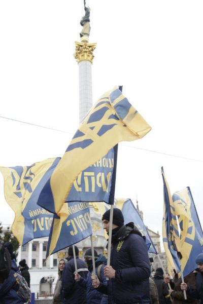 Целью участников Марша было заявить о своих требованиях к действующей власти Украины
