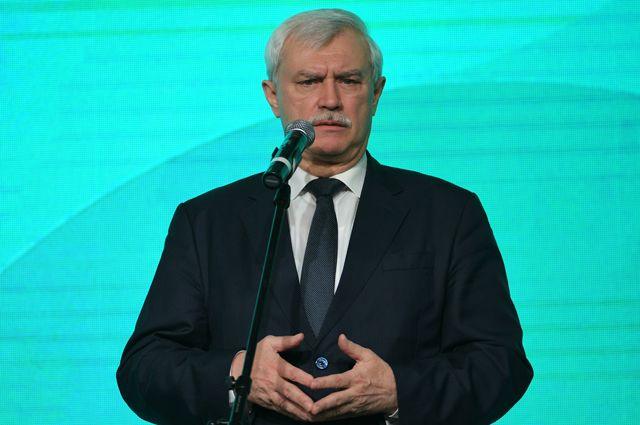 Губернатор Санкт-Петербурга Георгий Полтавченко. Досье