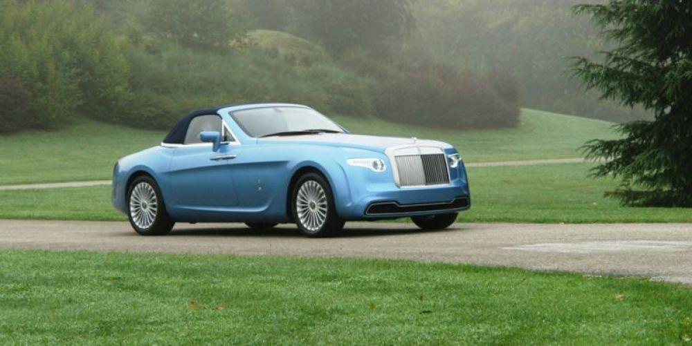 Rolls Royce Hyperion был сделан по заказу автоколлекционера. Максимальная скорость составляет 250 км/ч, при мощности в 400 л.с.. Стоимость этой модели - 6 млн долларов