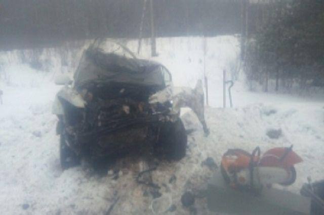 Один человек умер итрое пострадали всерьезном ДТП вТверской области