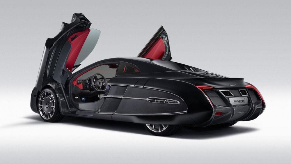 Максимальная скорость McLaren X-1 Concept - 330 км\ч. Мощность двигателя 625 л.с.