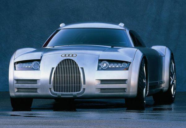 Самая мощная машина в нашем списке Audi Rosemeyer. Мощность мотора составляет 792 л.с., а максимальная скорость - 350 км/ч!