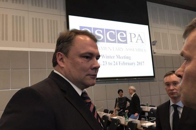 Глава делегации РФ в ПА ОБСЕ призвал объединиться против кибертерроризма