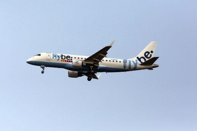 Ваэропорту Амстердама самолет совершил жесткую посадку