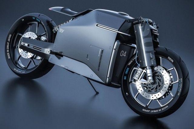 Samurai-Zen Motorbike Concept исповедует настоящий самурайский дух и эстетические принципы Дзен