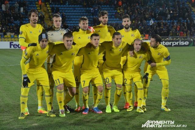 Счёт матча «Спарта» - «Ростов» - 1:1
