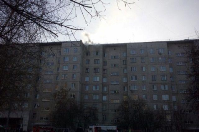 ВТюмени напожаре спасли троих детей