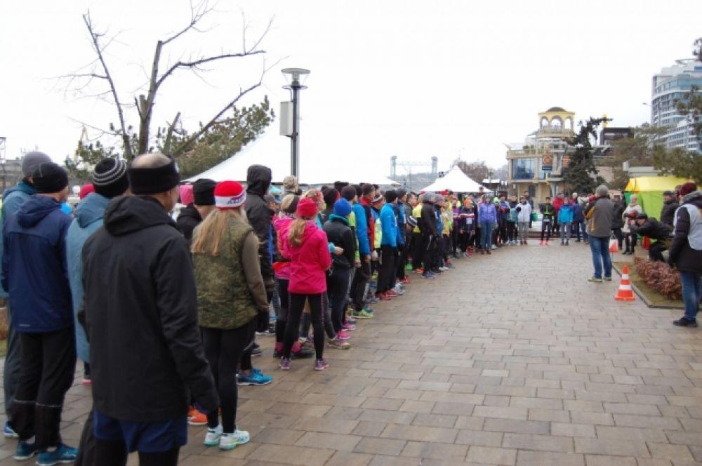 Первые два марафона проходили на территории Гребного канала «Дон».