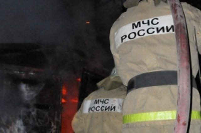 Напожаре вРыбновском районе пострадал человек