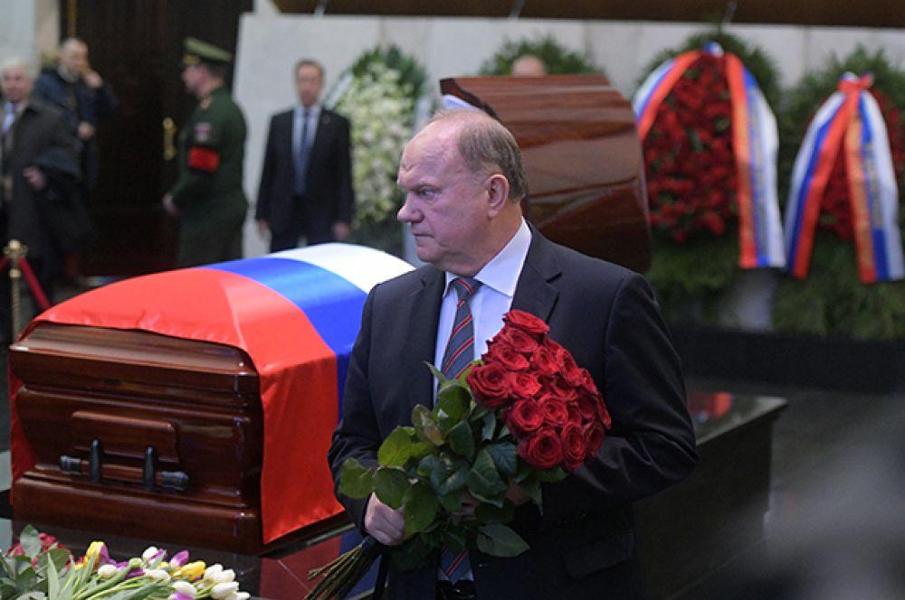 Председатель Центрального комитета Коммунистической партии Российской Федерации Геннадий Зюганов.