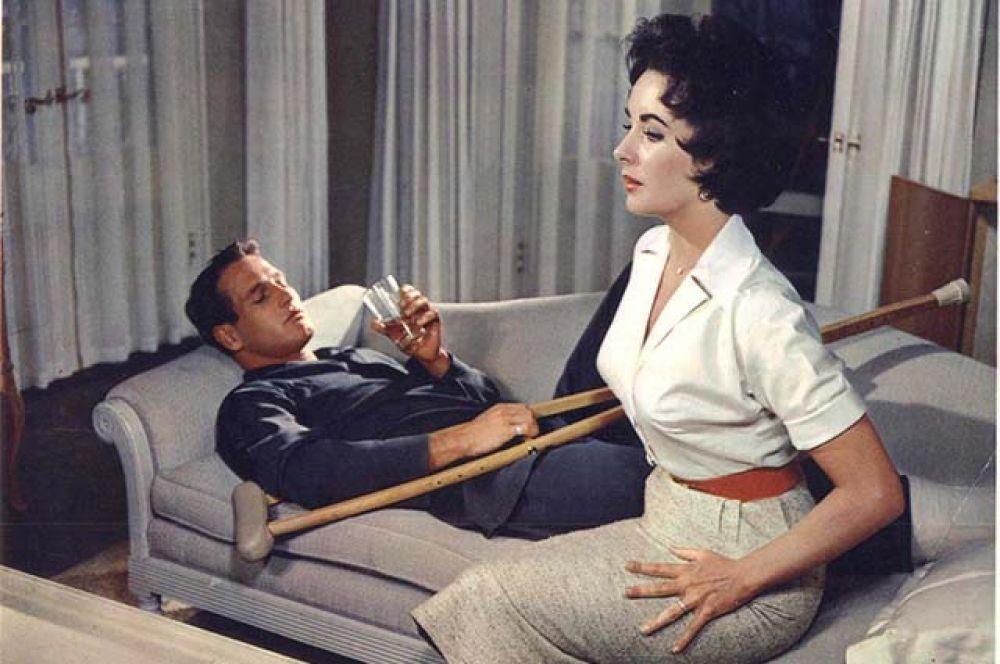 Следующим шагом к славе были роли в экранизациях пьес Теннесси Уильямса «Кошка на раскалённой крыше» (1958)