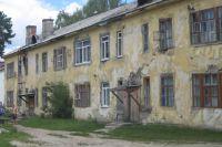 На этот раз потолок обрушился по улице Богдана Хмельницкого.